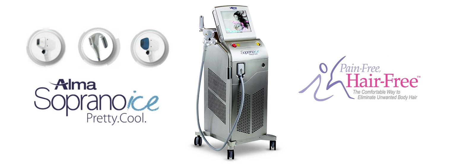 Soprano Ice by Alma Lasers